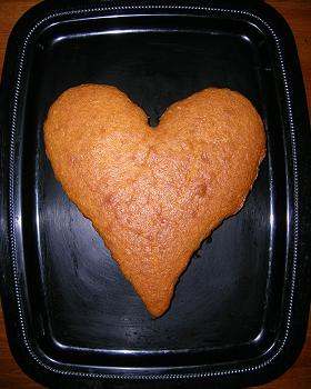 Heart Cake - No Strips