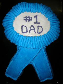 Father''s Day Blue-Ribbon Cake